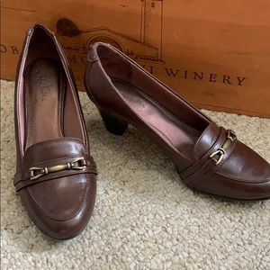 Life stride  loafers with Heel